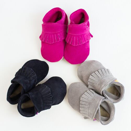 baby shoes moccasin group pictures