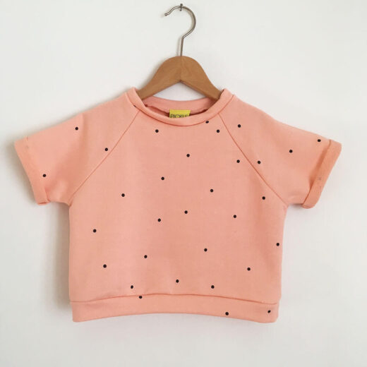 coral summer sweat front
